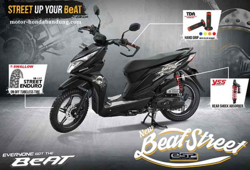 Harga Honda Beat Street Bandung Cimahi Terbaru 2021