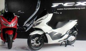 Harga OTR Cash Terbaru Motor Honda PCX 150 di Bandung Cimahi