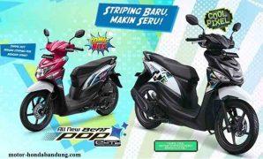 Harga OTR Terbaru Motor Honda Beat POP eSP CW di Bandung Cimahi