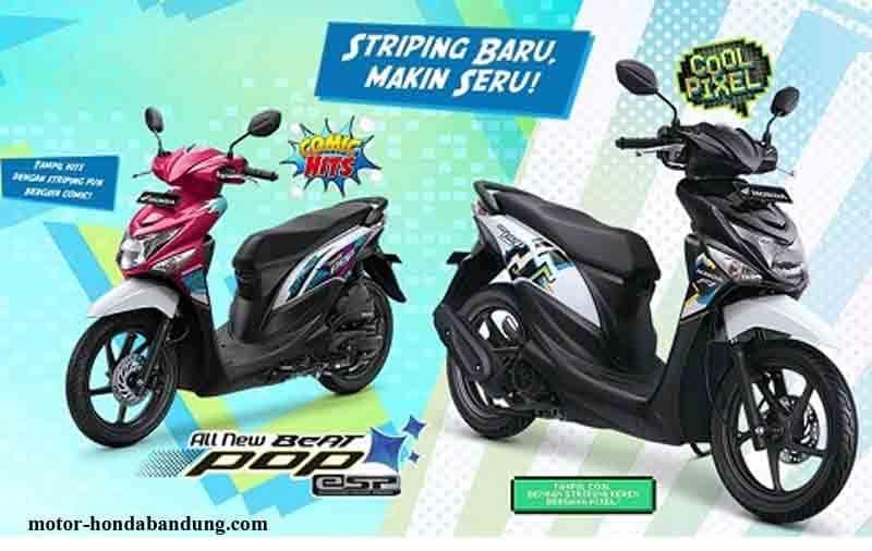 Harga Honda Beat POP eSP Fi Bandung Cimahi Terbaru 2020