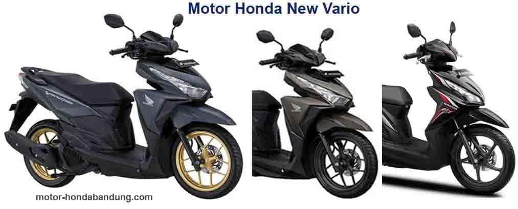 Kredit Murah dan DP Ringan Honda New Vario 110, Vario 125 dan Vario 150