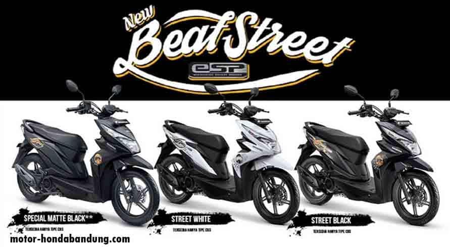 Daftar Harga Honda Beat Street eSP Bandung Cimahi Mei 2020