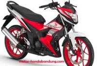Spesifikasi dan Harga OTR Cash Terbaru Motor Honda Sonic Bandung Cimahi