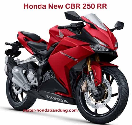 Harga OTR Terbaru Motor Honda New CBR 250 RR di Bandung Cimahi