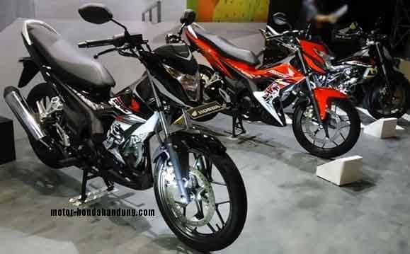 Promo Kredit Dp Ringan Motor Honda New Sonic di Bandung Cimahi