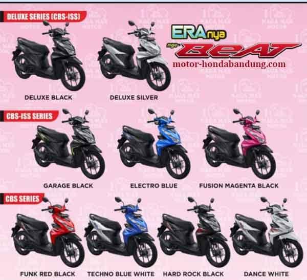 Daftar Harga Honda New Beat Bandung Cimahi 2020