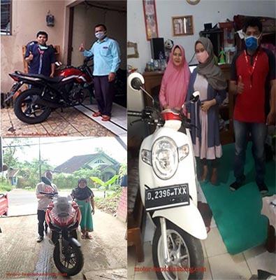 foto delivery sales motor honda bandung cimahi